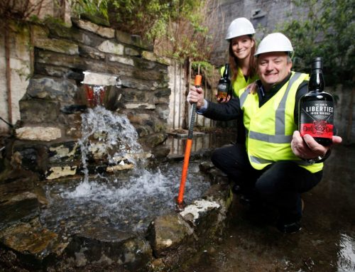 CONSTRUCTION BEGINS AT THE DUBLIN LIBERTIES DISTILLERY'S NEW €15 MILLION DISTILLERY AND VISITOR CENTRE