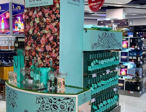 BLOOM GIN LAUNCHES FIRST ACTIVATION IN GLOBAL TRAVEL RETAIL