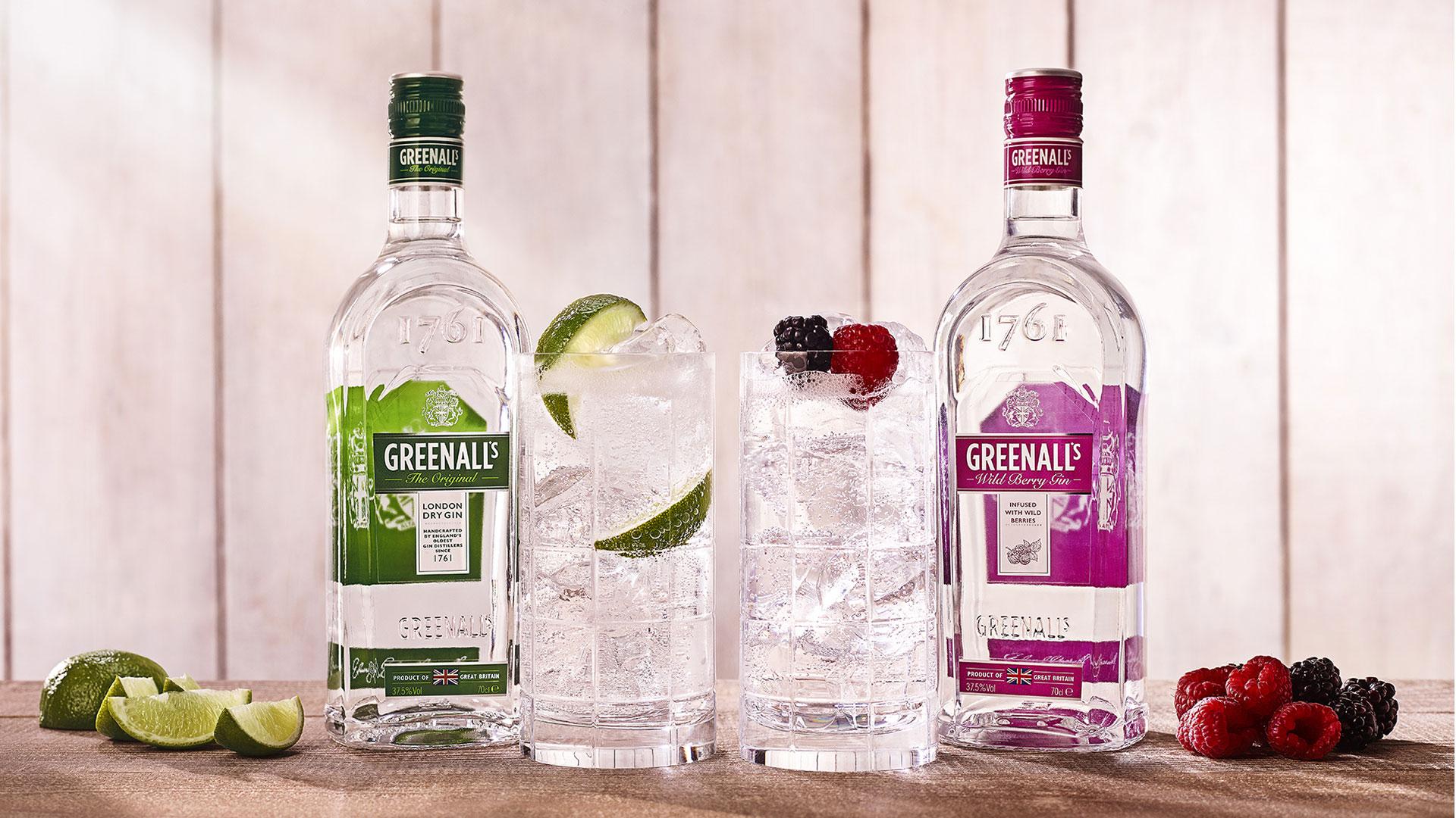 Greenall's Gin first distilled in Warrington