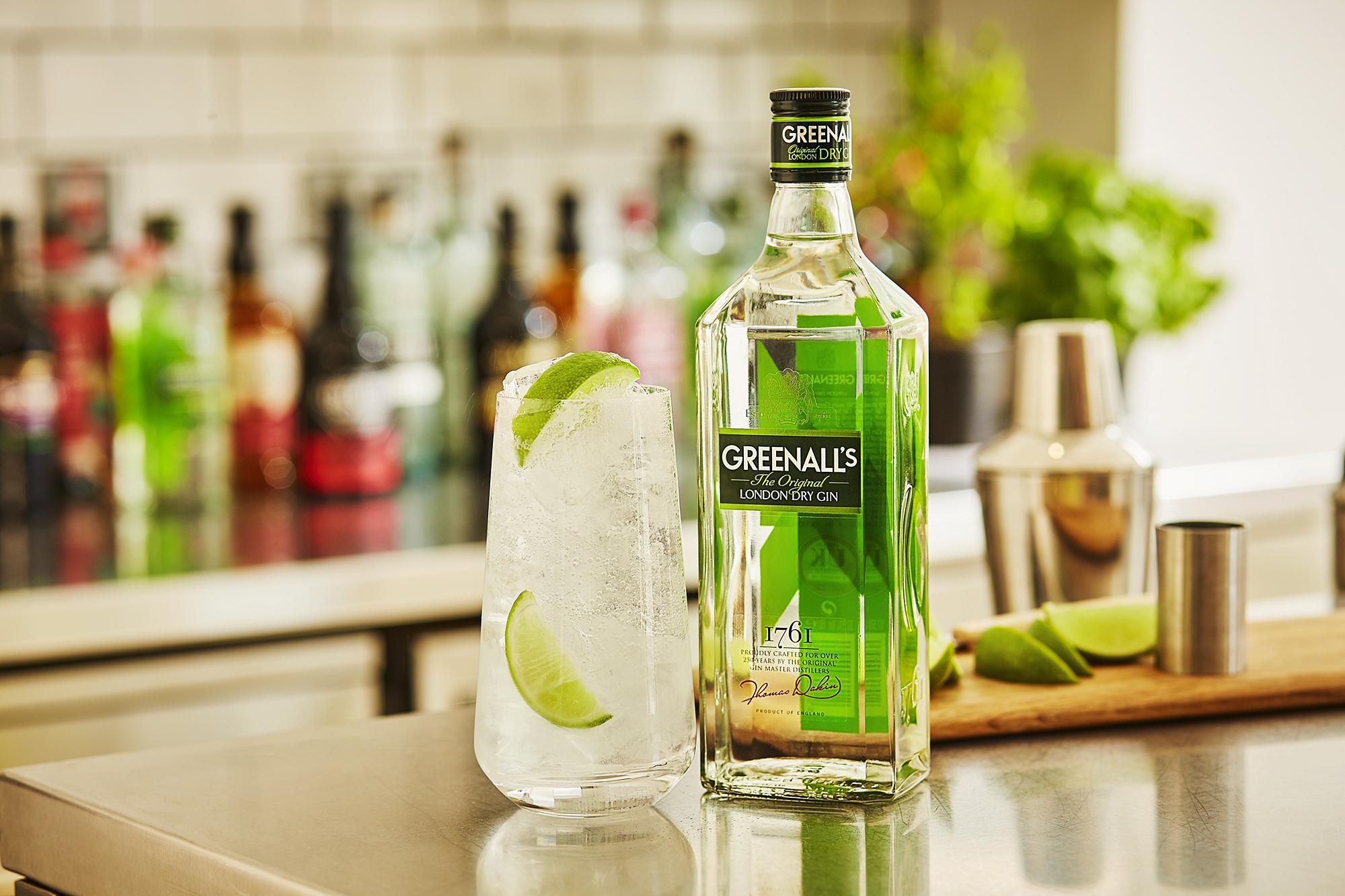 Greenall's Gin first distilled tin Warrington